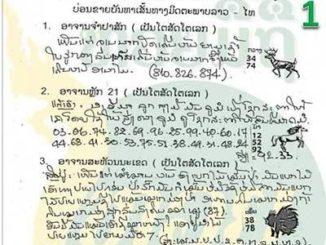 หวยลาว หวยมิติSMS 24/11/59