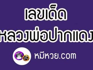 หวยหลวงพ่อปากแดง 16/6/62