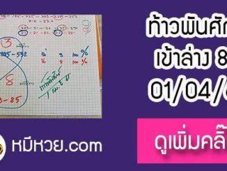 หวยซองท้าวพันศักดิ์1/4/61