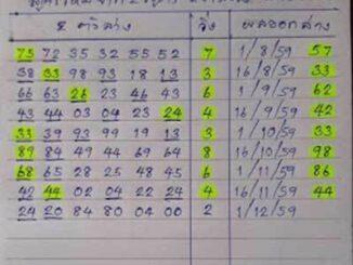 หวยบ่าวม๊อส1/12/2559 – สูตรใหม่ 2 ตัวล่าง